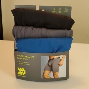 All in motion 3 performance boxer briefs